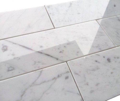 7 95sf Premium 3x8 Carrara Marble Subway Tile Price 95