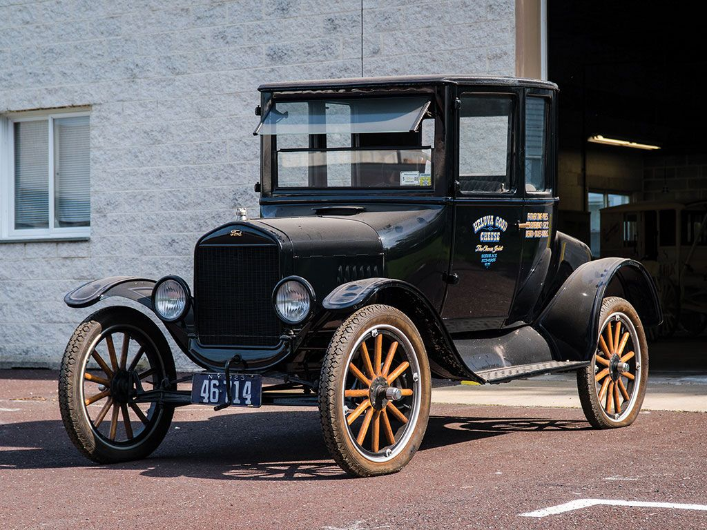 1923 Ford Model T Heluva Good Cheese Coupe Ford America