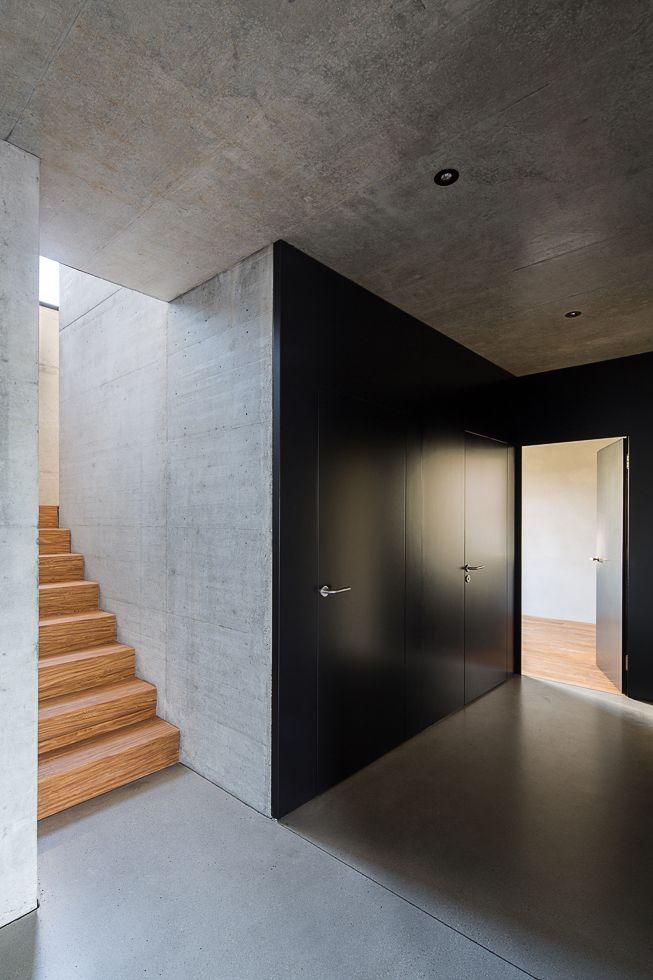 Wohnhaus mit Holzfassade bei Aarau / Attika mit Alpenblick - Architektur und Architekten - News / Meldungen / Nachrichten - BauNetz.de