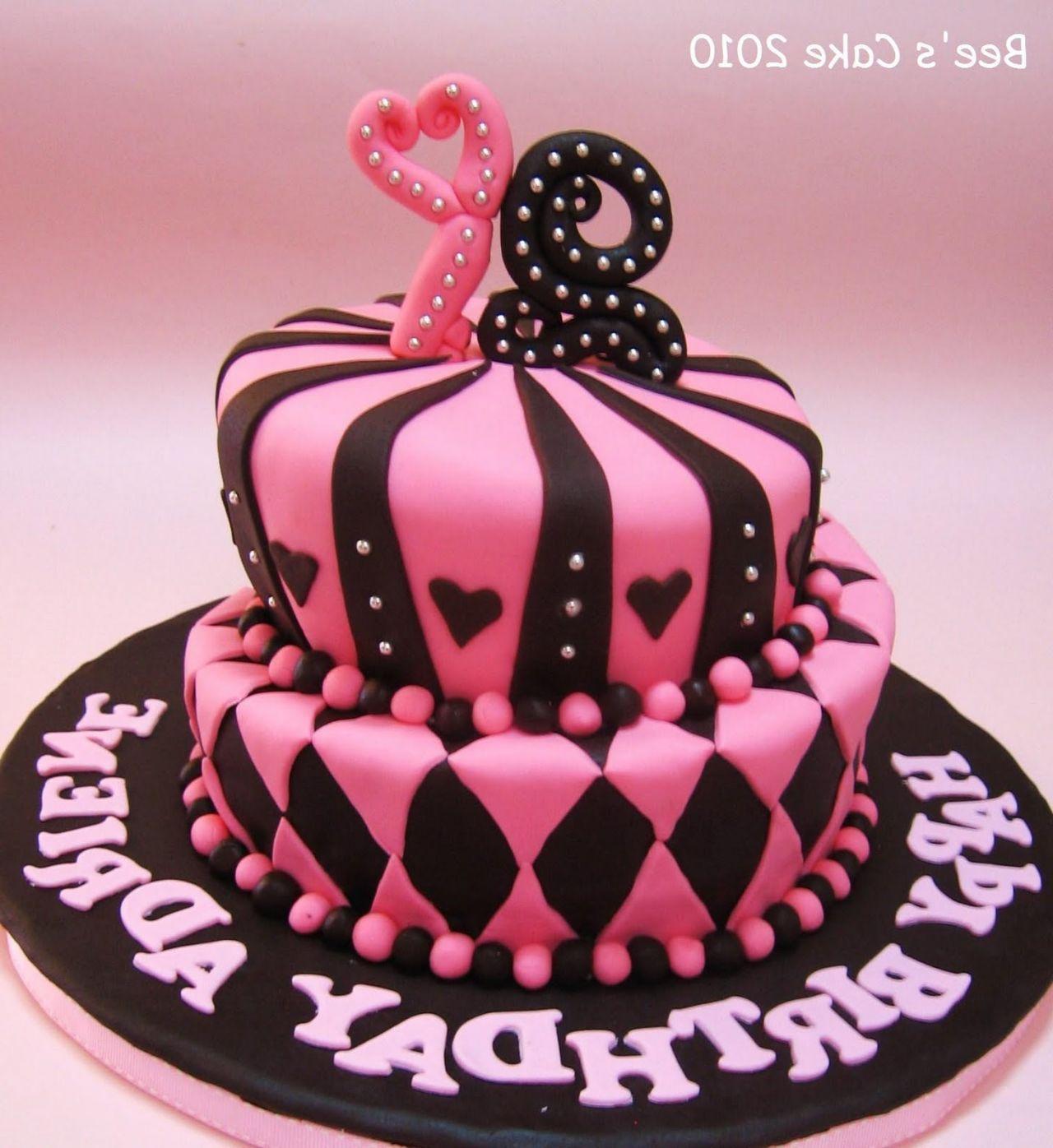 beautiful birthday cake Google zoeken Mad dadder round