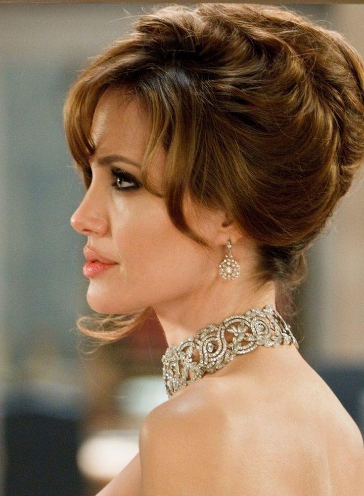 Angelina Jolie Hairstyles Frisuren Angelina Jolie Haar Styling