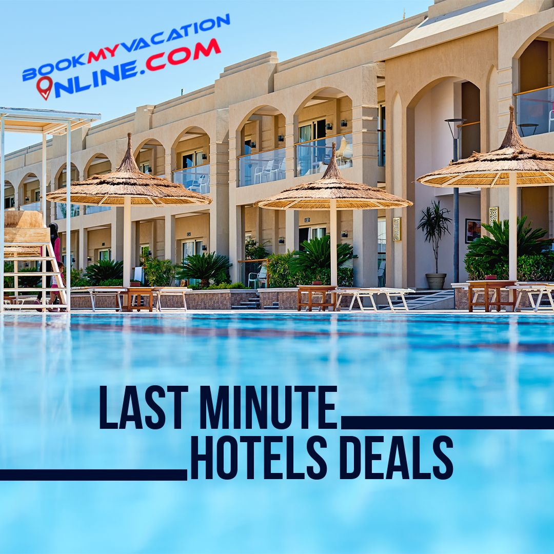 You can book last minute hotel deals from this website