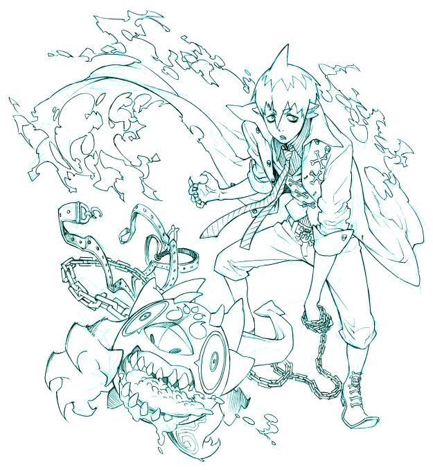 Pinterest Blue Exorcist Ao No Exorcist Anime