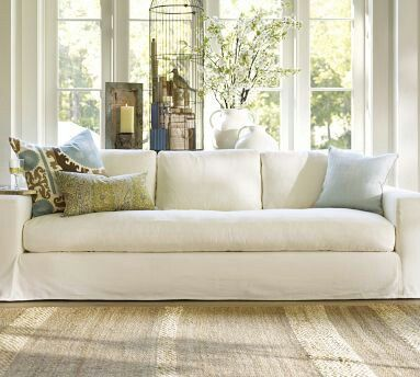 Pottery Barn Solano Grand Sofa With
