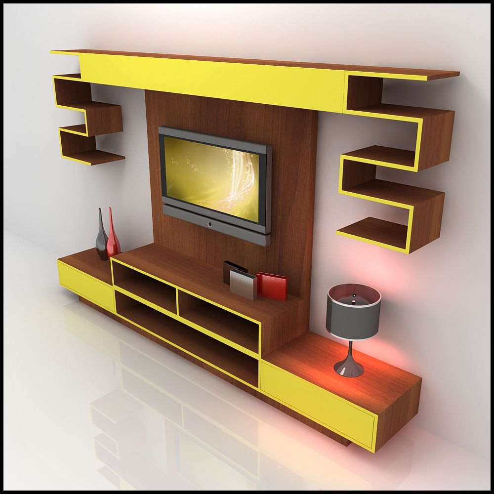 Modern tv units google search home to do ideas - Modern tv wall unit designs for living room ...