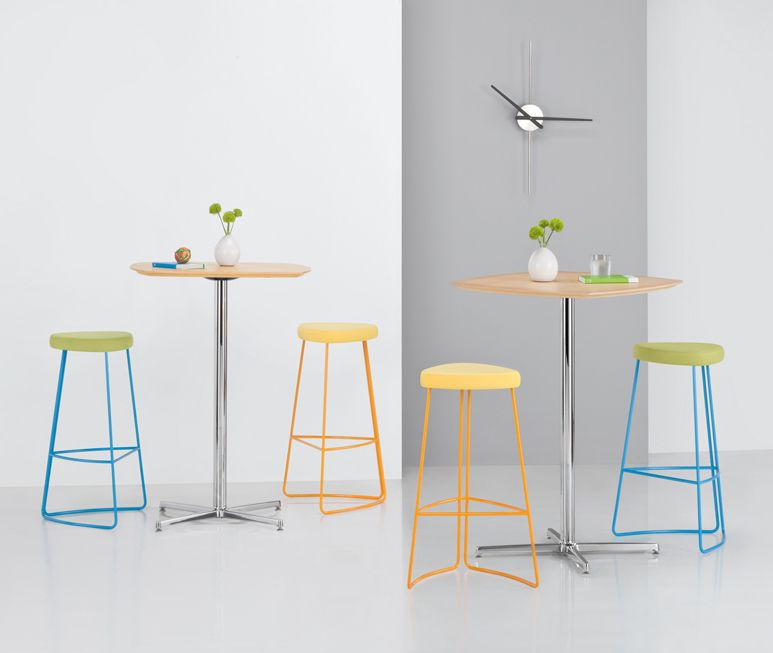 Pixie Barstools with  Arcadia Contract Furniture Nios Cafe Height Tables. Pixie Barstools with  Arcadia Contract Furniture Nios Cafe Height