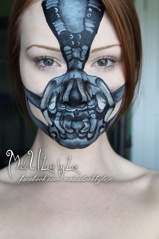 Bane makeup tutorial   MadeULook   Pinterest