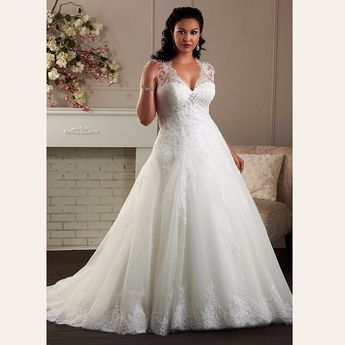 A Line Custom Made Maternity Bridal Gown