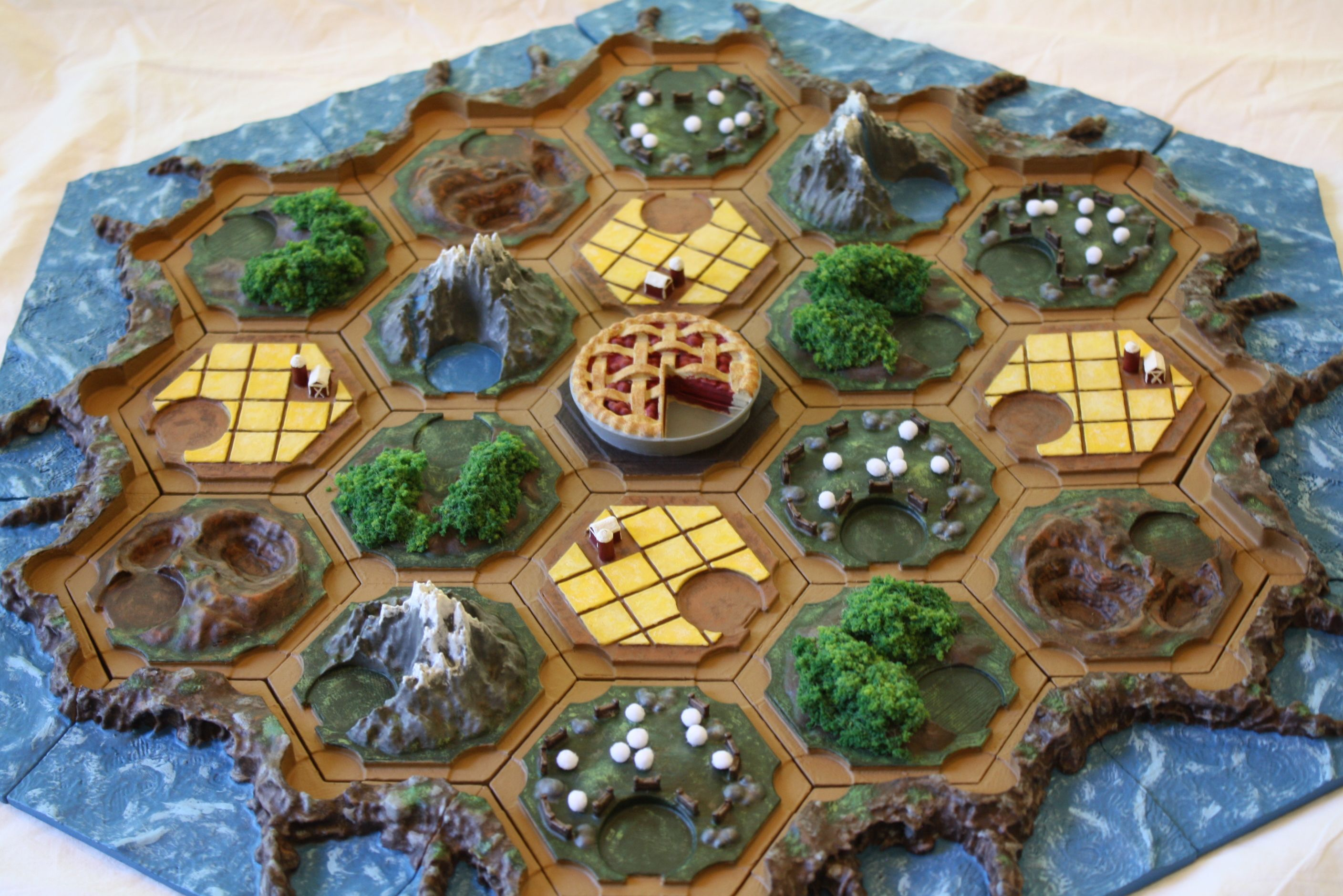 My Friends And I Love Settlers Of Catan But I Was Always Annoyed When That One Guy Bumped The Board And Messed It Up To S Settlers Of Catan Catan Board