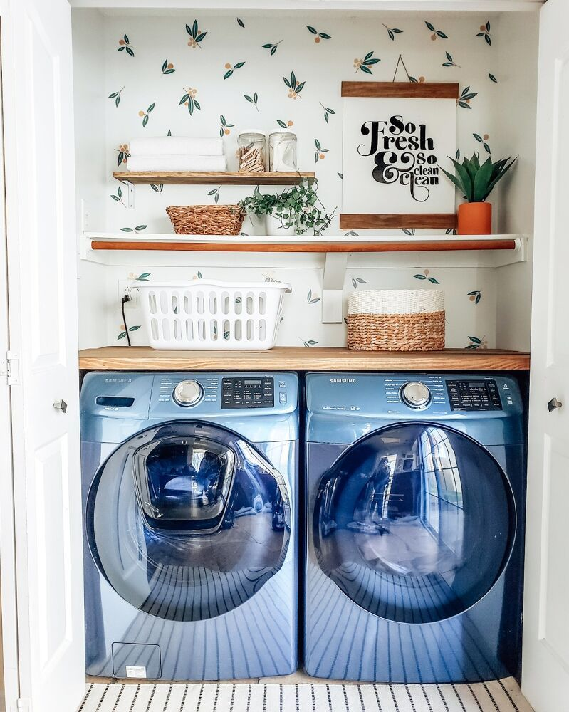 22 Laundry Room Makeover Ideas On A Budget Laundry Room Diy Laundry Room Small Laundry Room Makeover