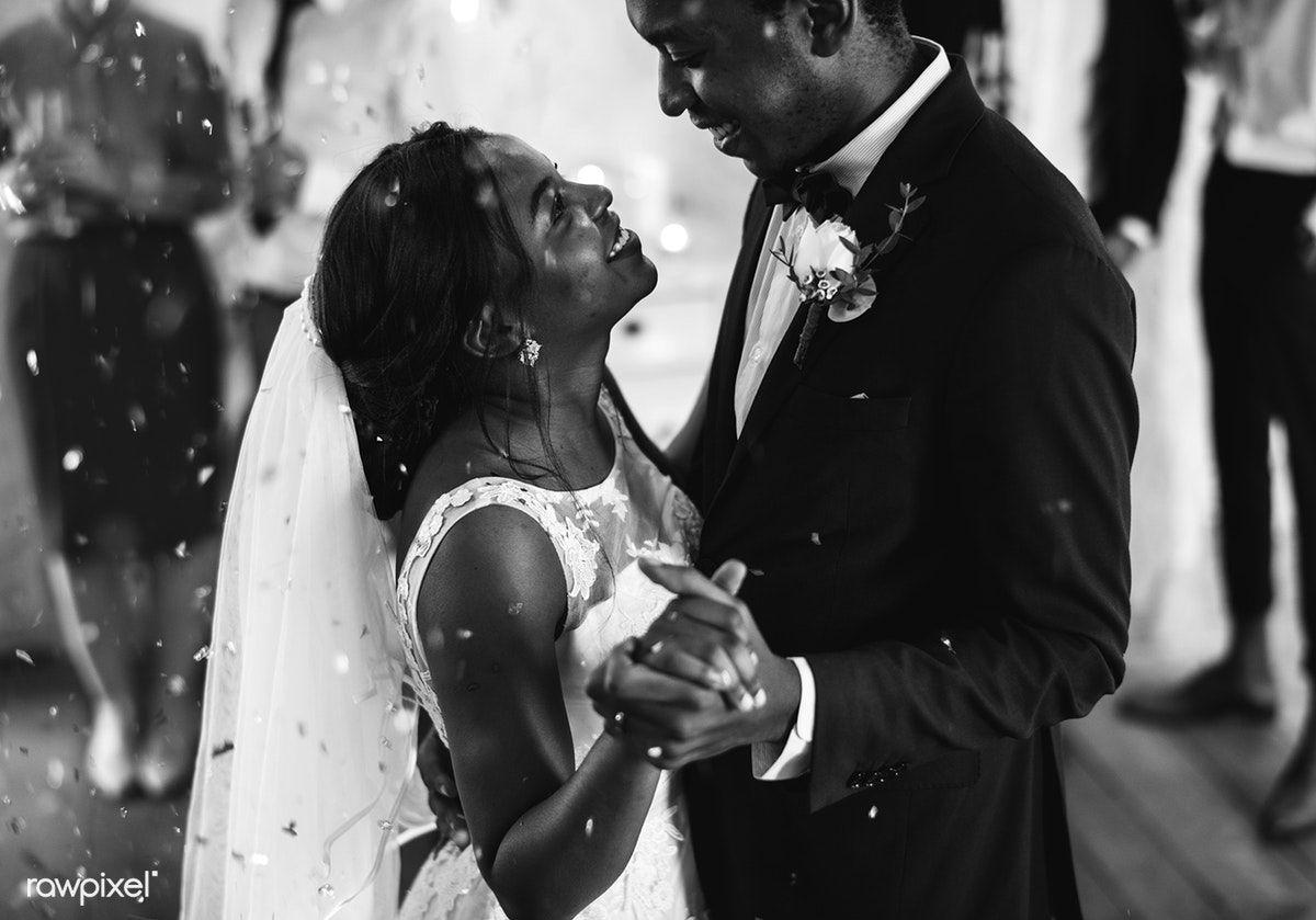 Download Premium Image Of Black Couple Dancing On Their Wedding Day 100991 Black Couples Couple Dancing Wedding Couples