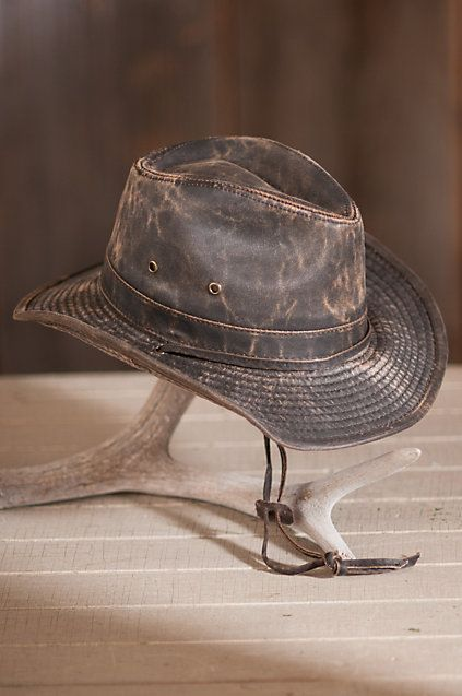 b858405a62f Outback Shapeable Weathered Cotton-Blend Safari Hat