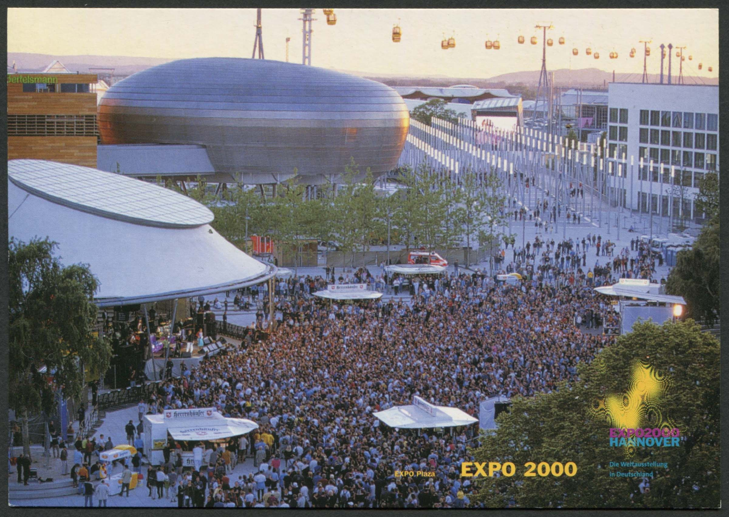 Expo Plaza Hannover Expo 2000 Was A World S Fair Held In Hanover Germany From 01 Jun