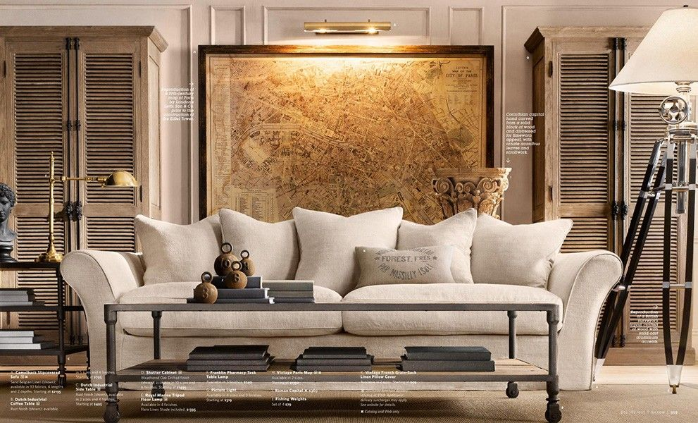 The Intentional Apartment: 67 More Examples of a Masculine Home from the Pages of the Restoration Hardware Catalog | Primer