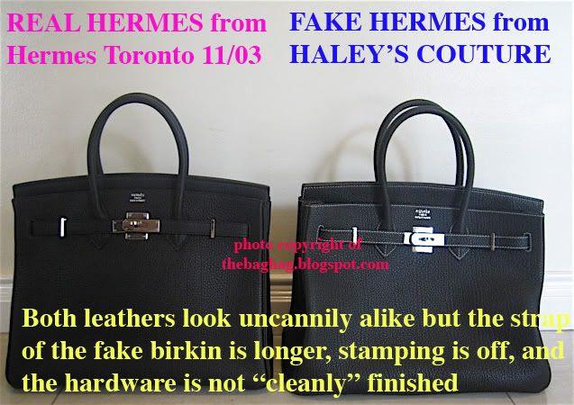 FAKE HERMES BIRKIN– bag scammed!!!  49cd9602501c5