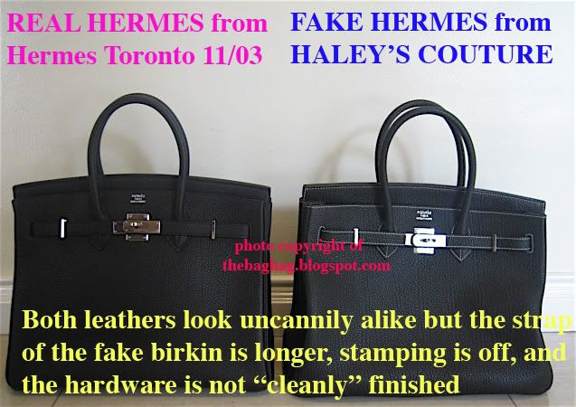 acde010cc89a FAKE HERMES BIRKIN– bag scammed!!!