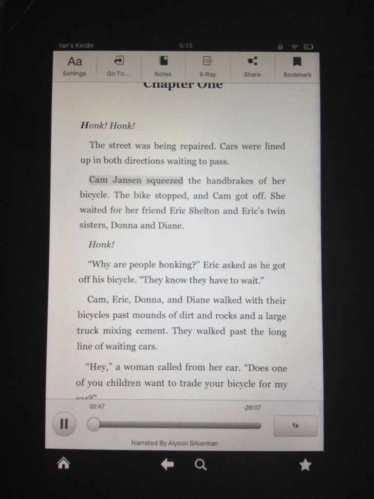 Audio For Kindle Books Amazon S Immersion Reading Service