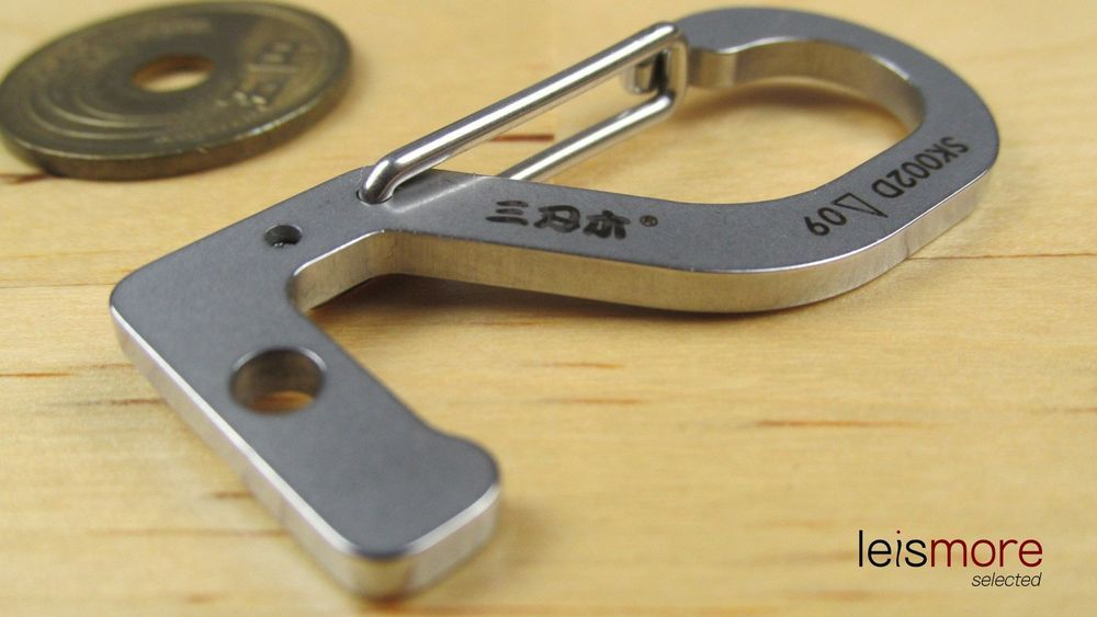 Silver Stainless Steel Lucky Number Key Chain (TWO) / leismore selected #leismore