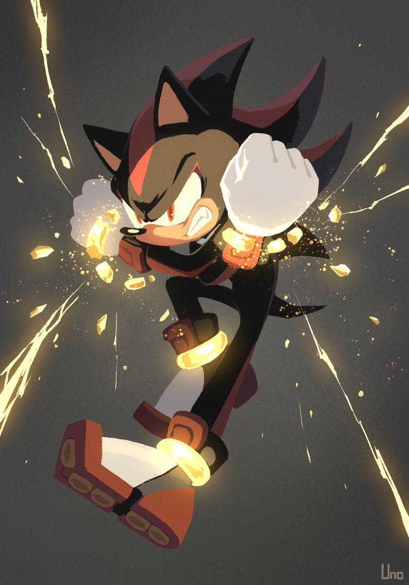ウノユウジ on | Sonic and shadow, Hedgehog art, Sonic