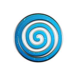 Image result for blue spiral