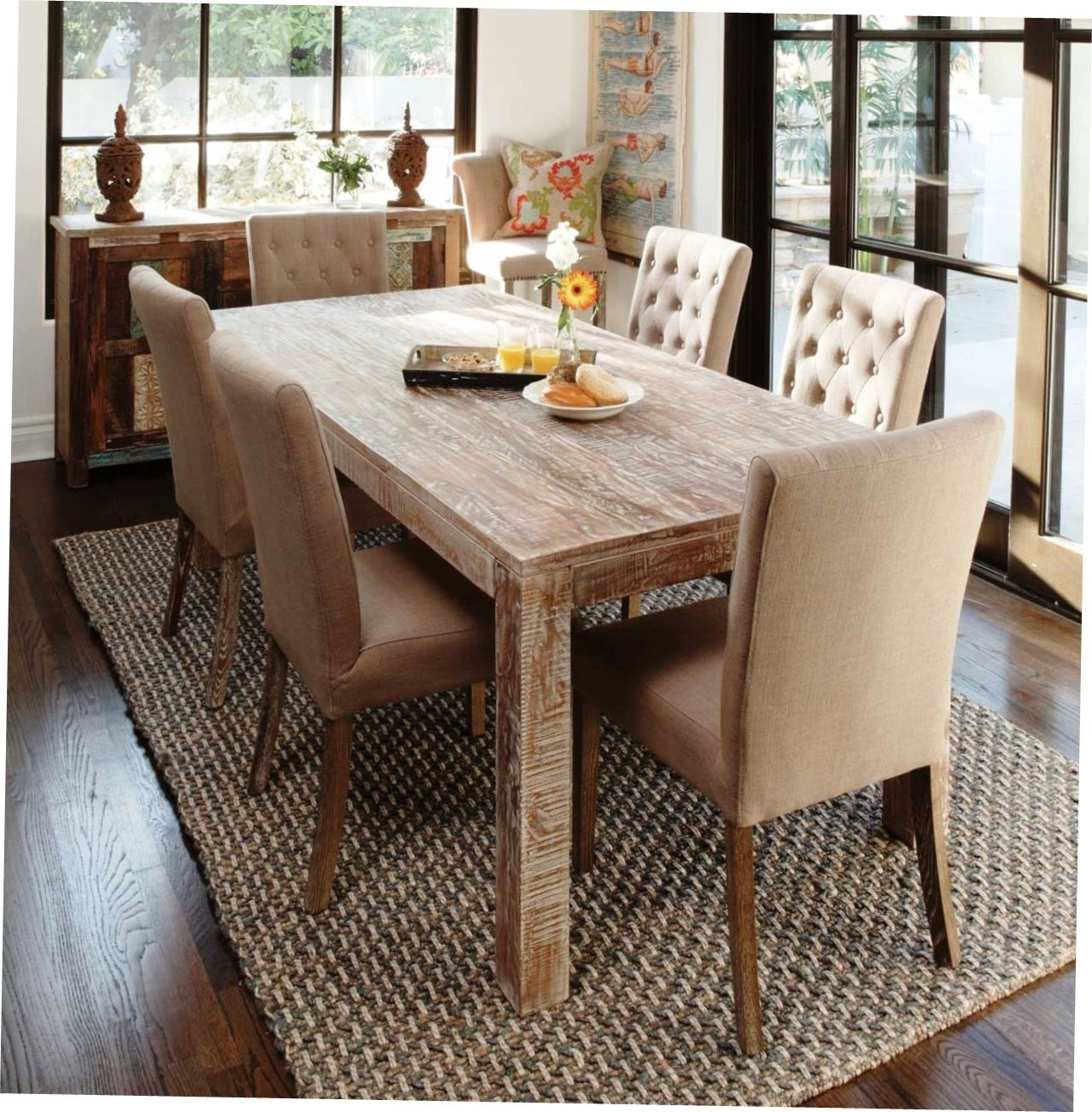 Captivating Unique Rustic Dining Room Furniture Sets #interiors