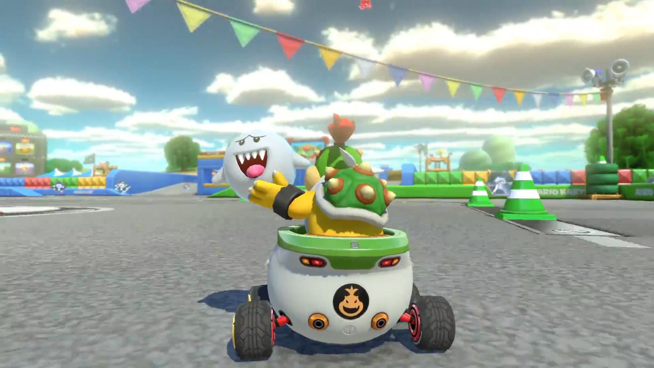Mario Kart 8 Deluxe New Boo Item