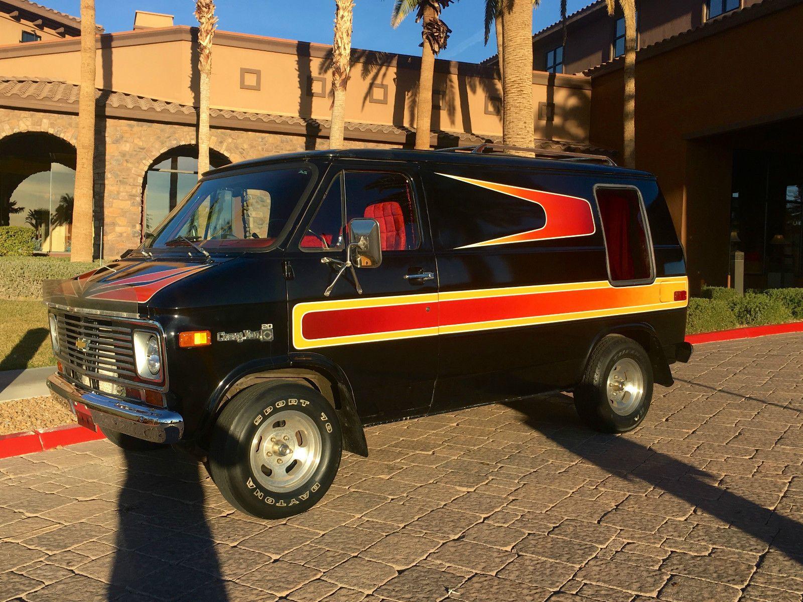 1977 Chevrolet G20 Van Hotrod Shag Survivor Vans Chevy Van
