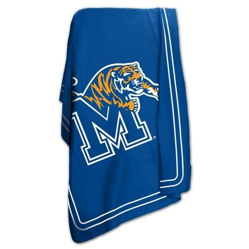 5105a347c University of Memphis Tigers Fleece Blanket Throw 50x60
