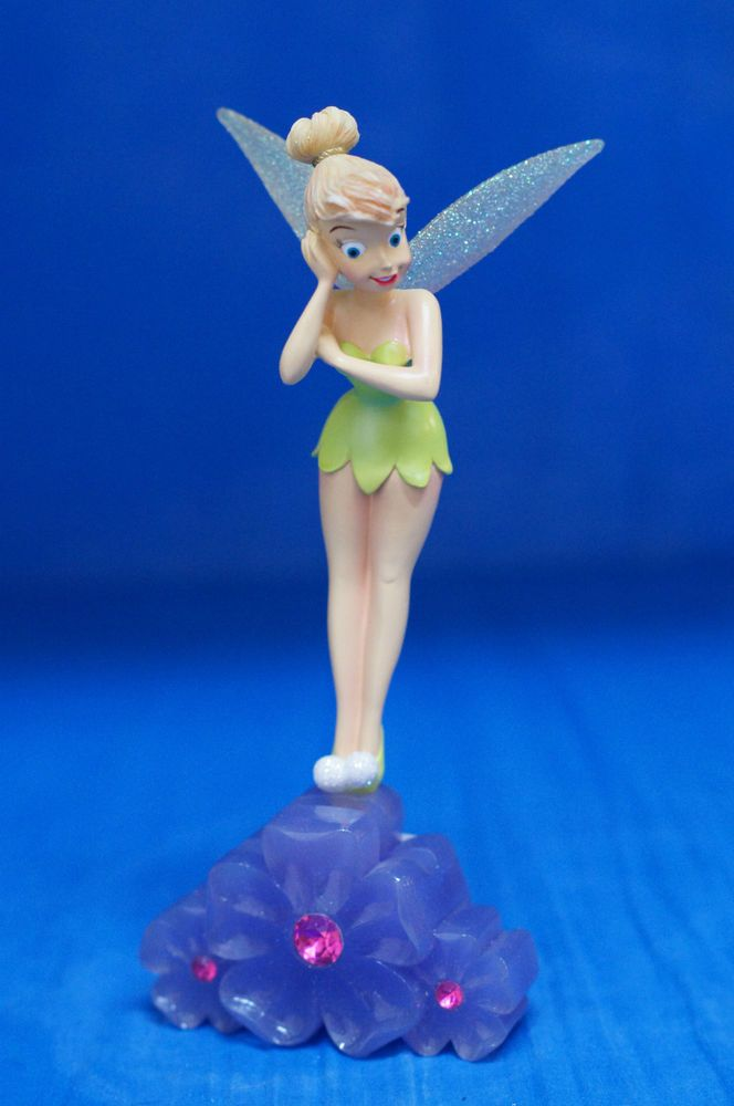 """Tinker Bell 8"""" Resin Figurine Picture Photo Peeker Frame Disney Parks Peter Pan #DisneyParksExclusive #Figurines"""