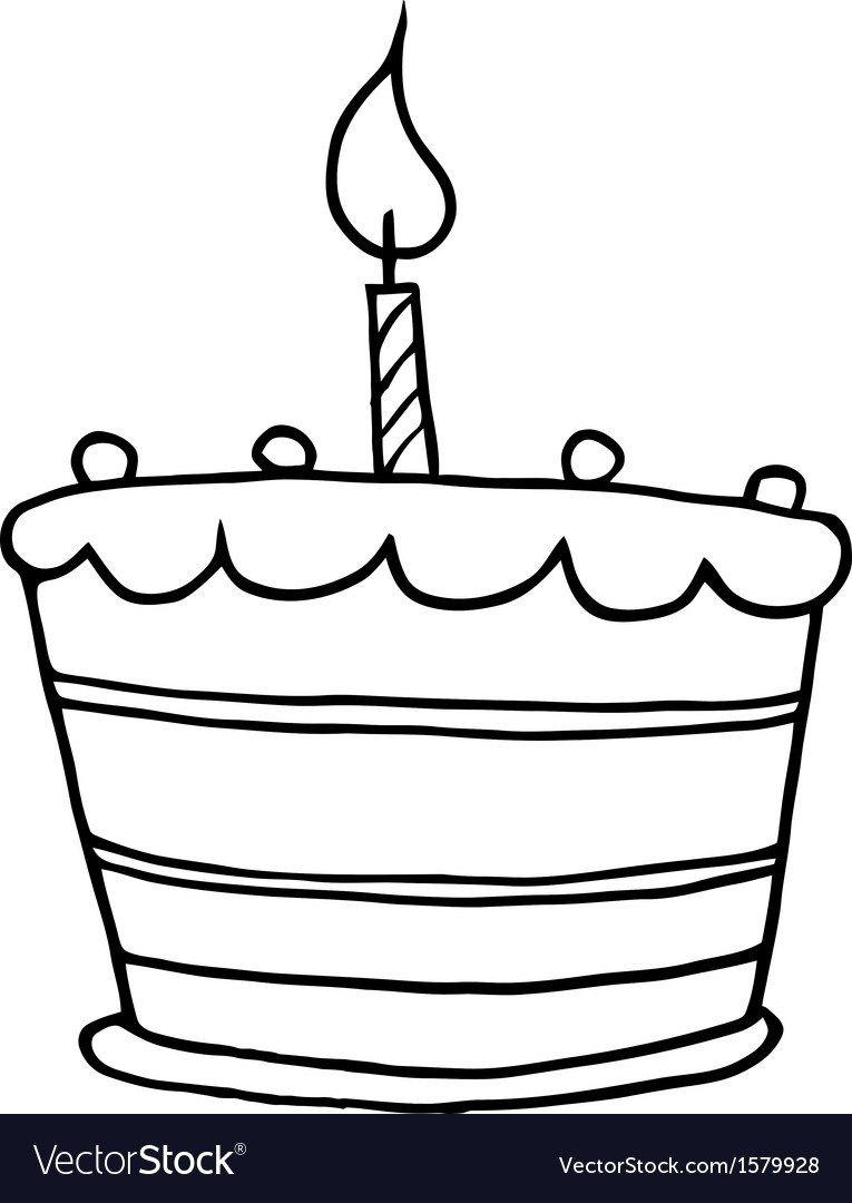 27 Beautiful Image Of Cartoon Birthday Cake Royalty Free Vector CoolBirthdayCakes