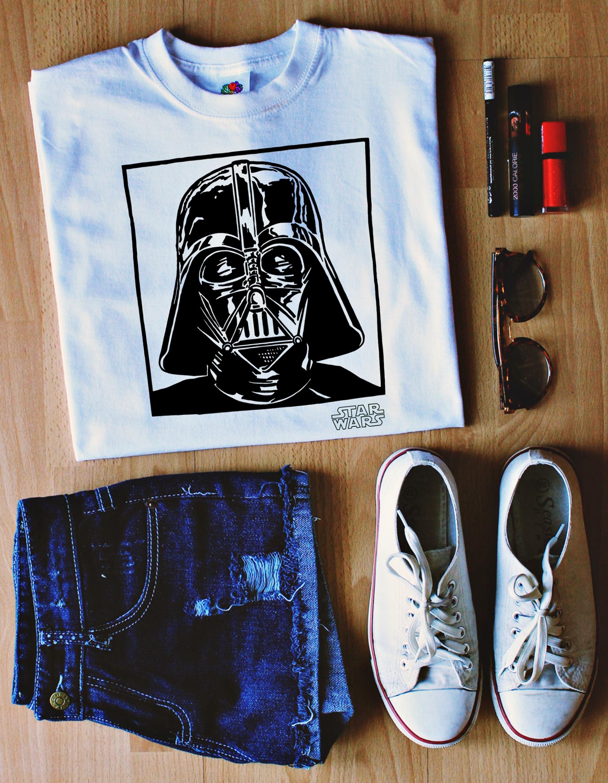 Koszulka Z Nadrukiem Star Wars Lord Vader Star Wars Stars War