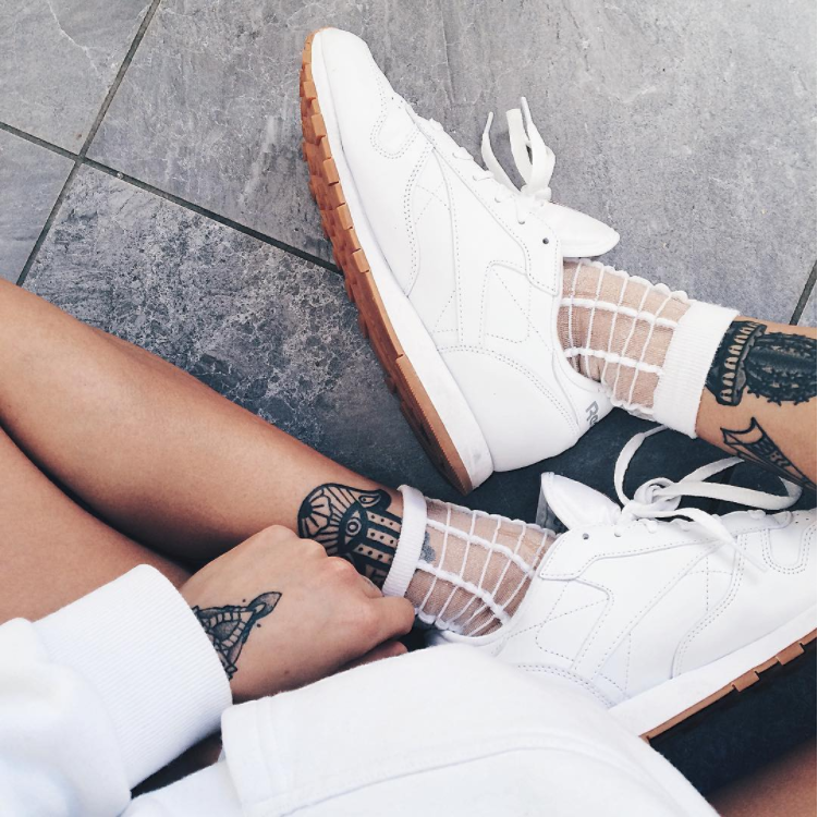Reebok Classic Womens Trainers in White