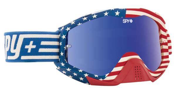 47d47e133f97 Spy KLUTCH VINTAGE USA - SMOKE W  DARK BLUE SPECTRA + CLEAR AFP Ski Goggles