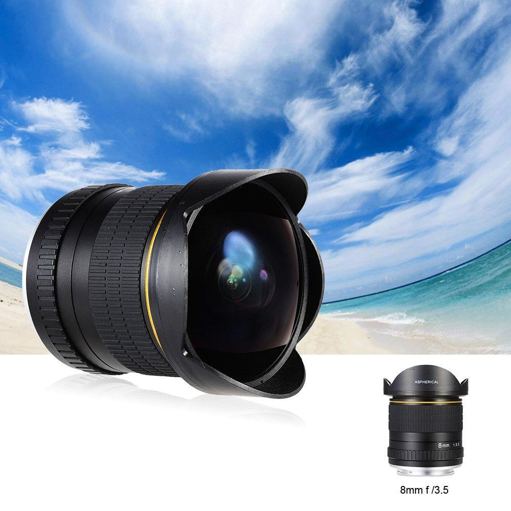 Kelda 8mm f/3.5 170 deg Aspherical Circular Camera Lens Ultra Wide ...