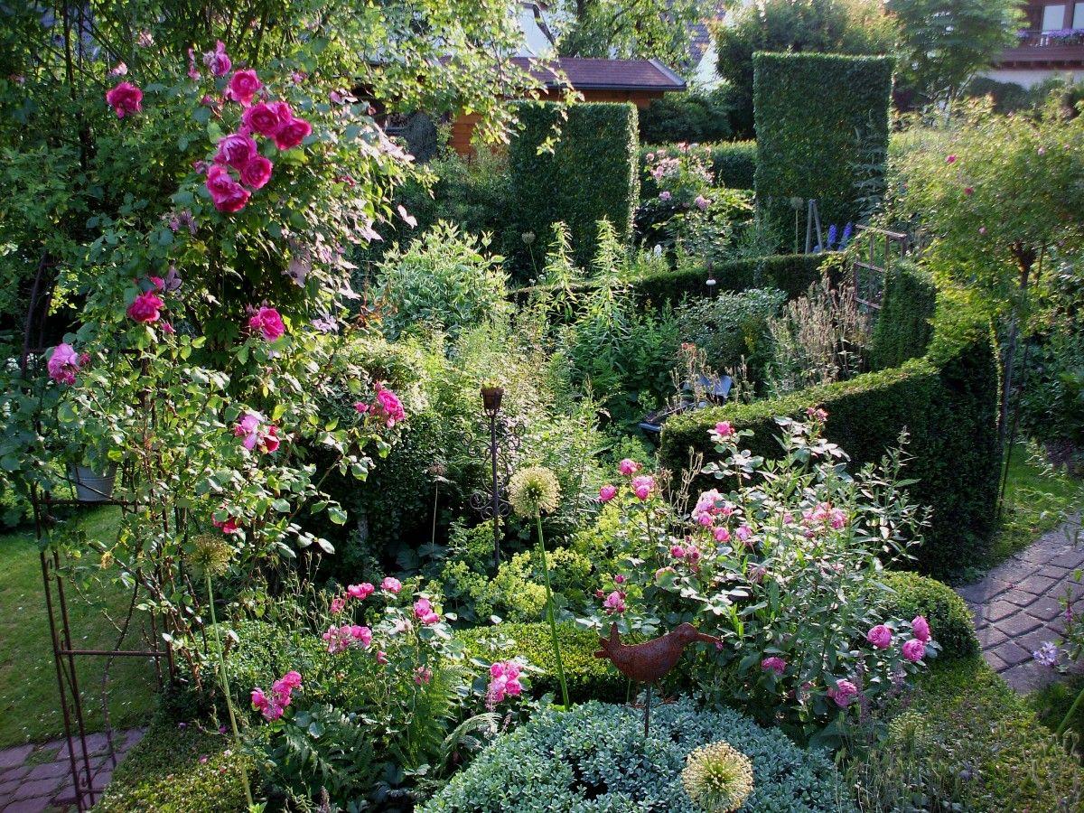 Ein Garten Im Sauerland Sommer Garten Privatgarten Sommer