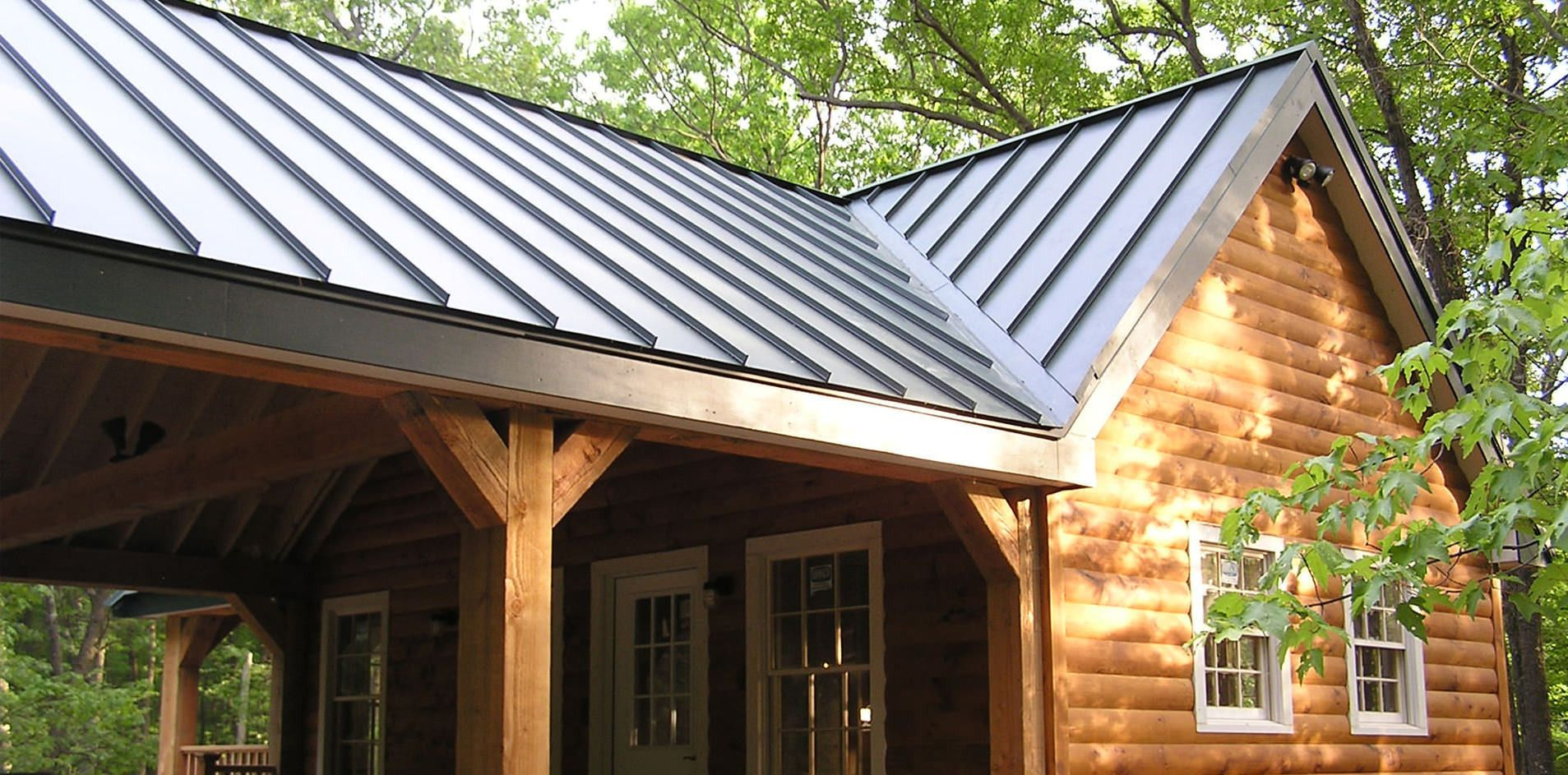 Sheet Metal Roofing Exposed To The Harshest Outdoor Elements Year