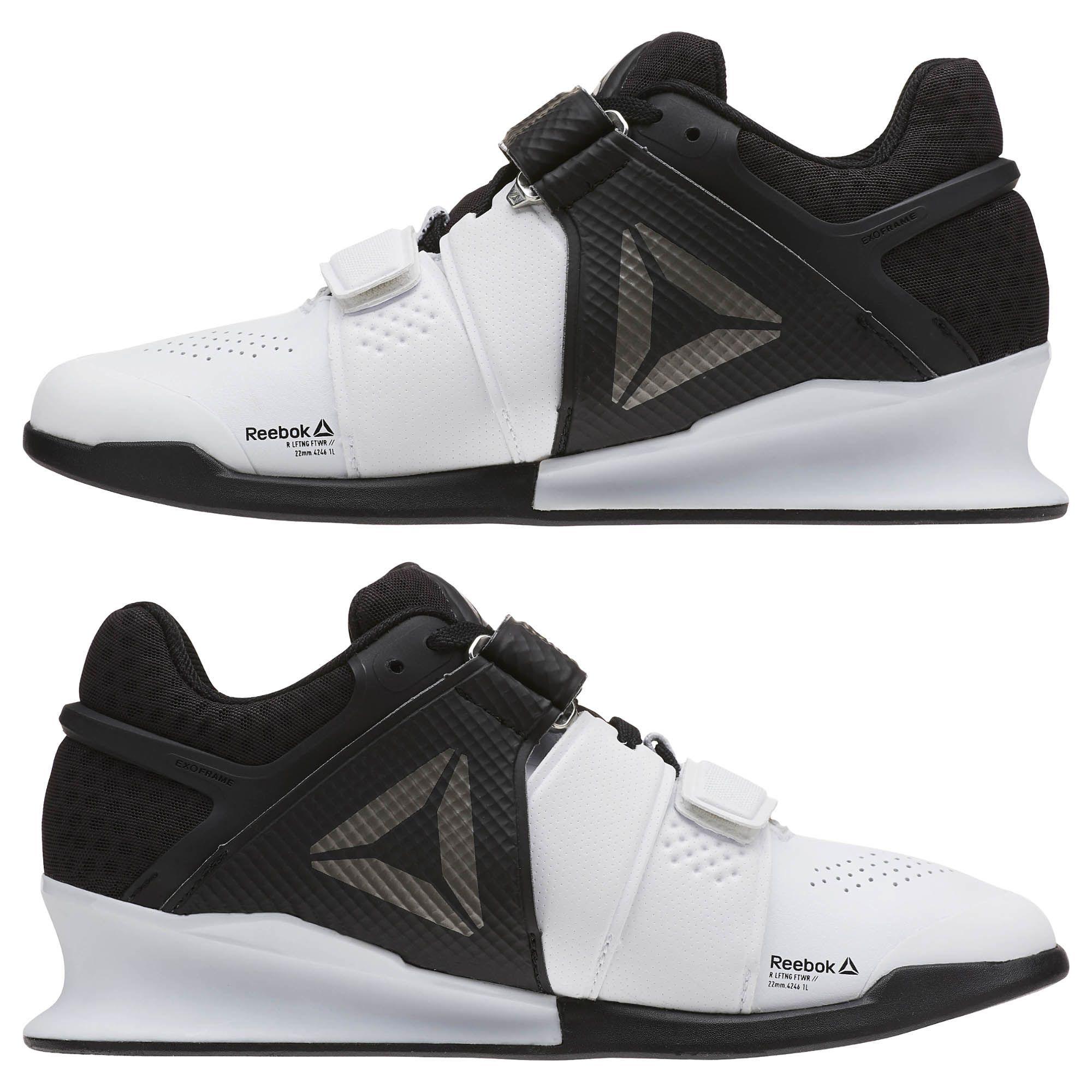 05f3db3b7 Reebok Shoes Women s Legacy Lifter in White Black Pewter Size 10 ...