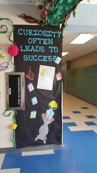Alice In Wonderland Themed Decor For Hallways Classroom