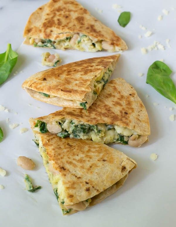 How to make and freeze breakfast quesadillas. The perfect back to school breakfast for busy mornings!