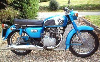 1976 Honda CD175. Classic Honda motorcycles & hard to find ...