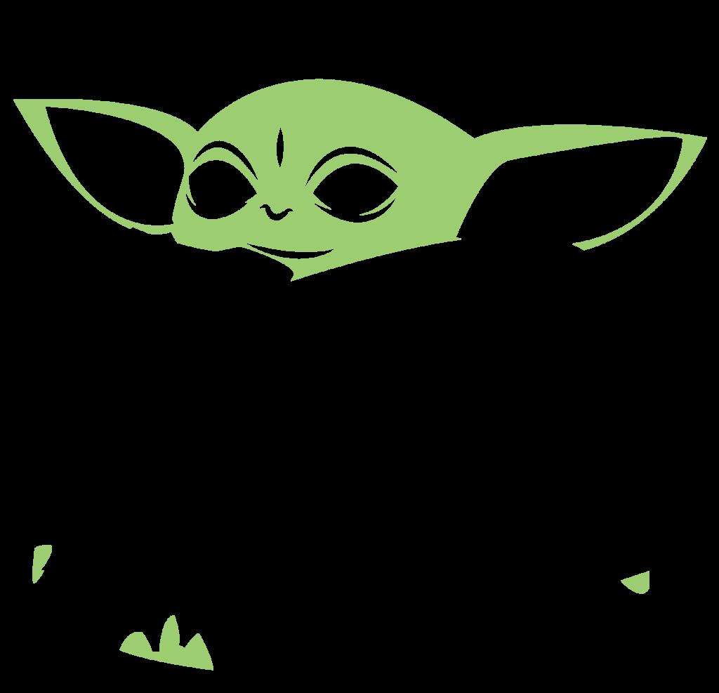 Download Baby Yoda SVG for Cricut en 2020 | Cameo