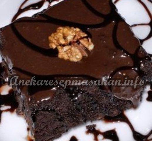 Pin Oleh Gita Andry Di Recipe In Bahasa Indonesia Kue Cokelat Resep Masakan