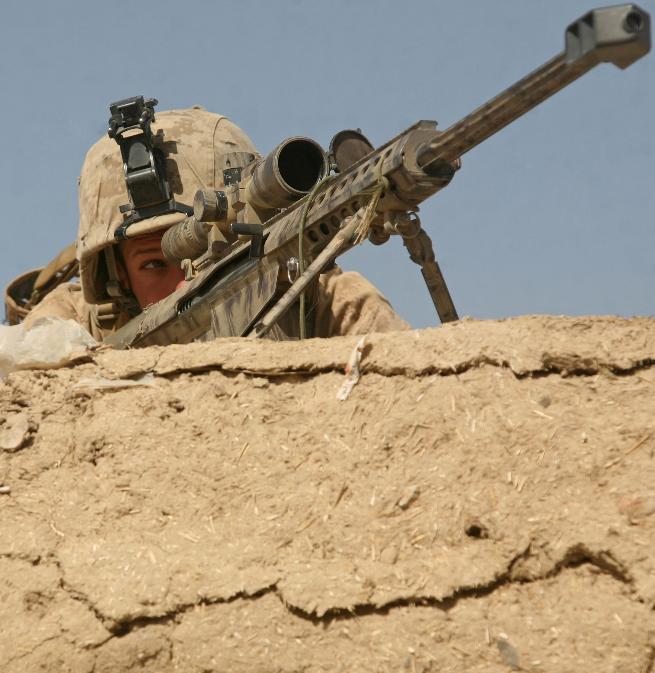 marine sniper | Marine Corps Lance Cpl. Mark Trent, a scout sniper ...