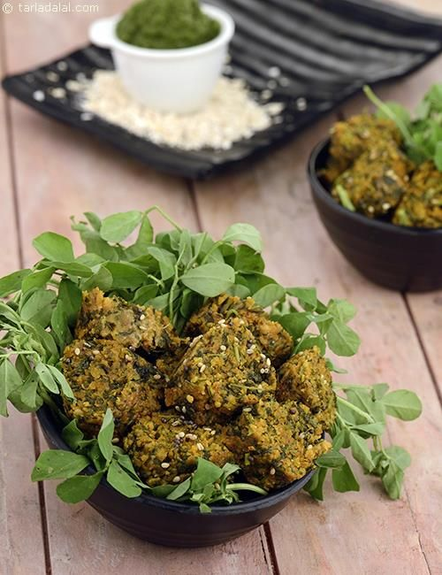 Oats methi muthia recipe recipes snacks and food oats methi muthia forumfinder Gallery