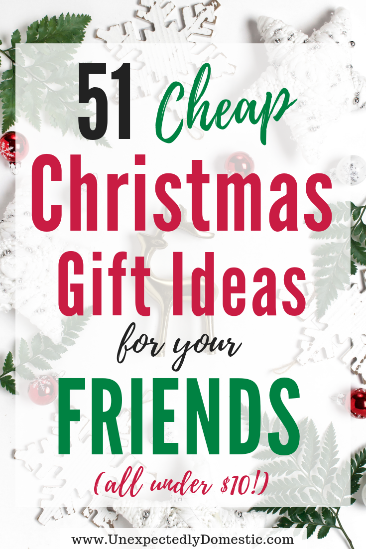 51 Cheap & Creative Gift Ideas Under 10 (that people