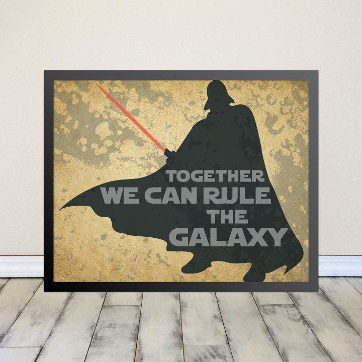 Star Wars, Darth Vader, Disney, Nerd, Sci Fi, Room Decor, Home ...