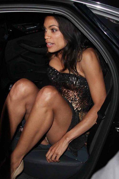 Rosario dawson nude upskirt