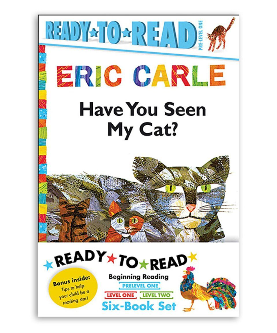 Take a look at this eric carle cat ready to read paperback set eric carle nvjuhfo Choice Image