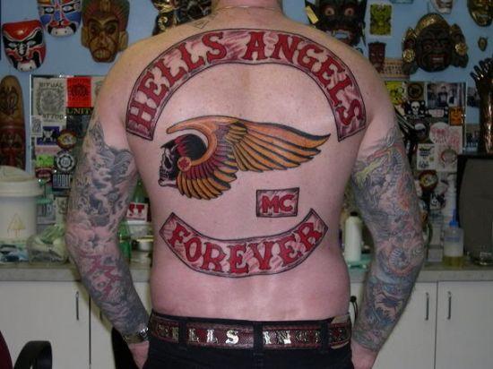 Hells Angels Tattoos