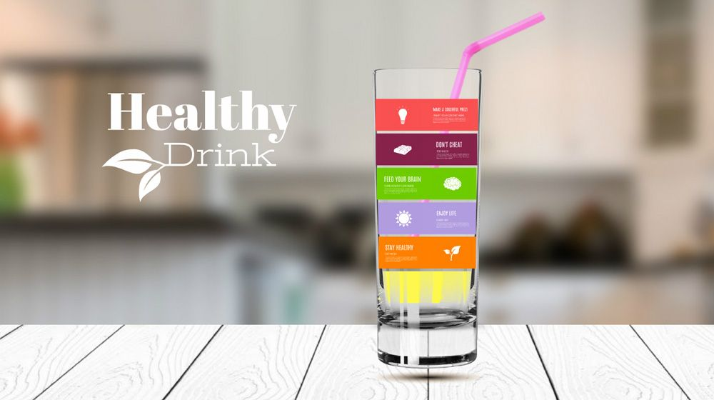 Healhty Drink Juice Smoothie Prezi Template For Presentation